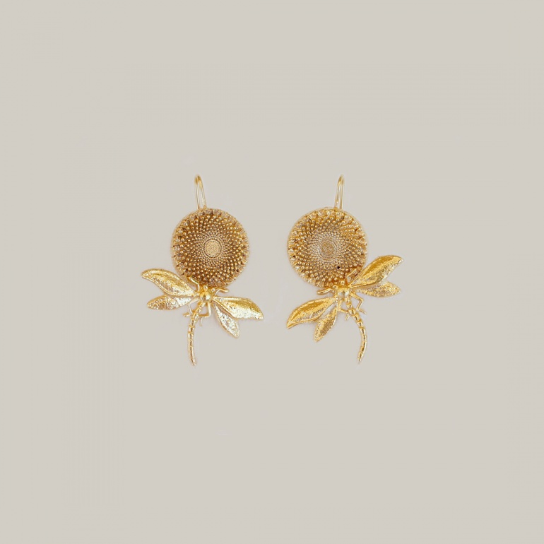 Earrings Bouton d'Or 2
