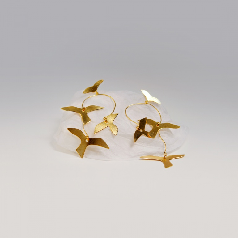 Earrings Colombes