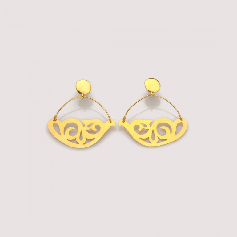 Earrings Arabesque