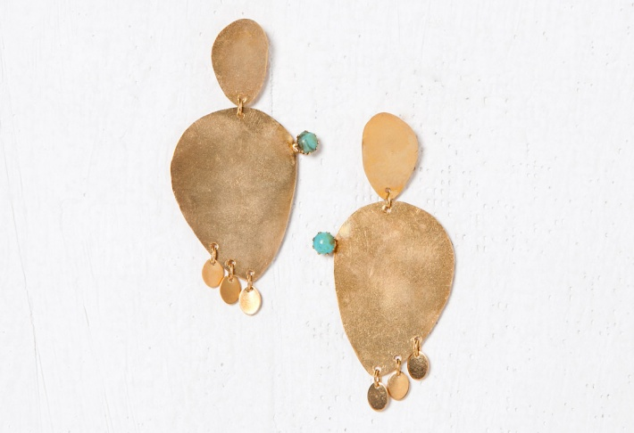 Earrings Cactus 1