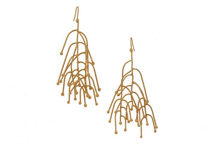 Earrings Woods