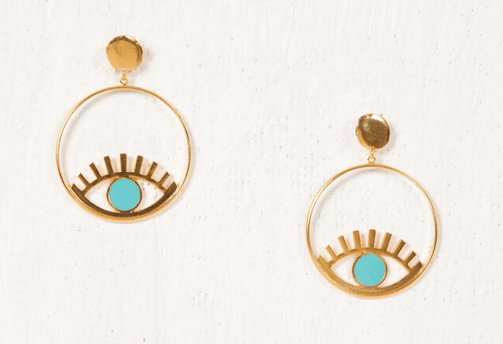 Earrings Ouyouni